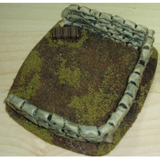 35 - TH51 - 20mm Large Sandbag Emplacement Painted or Unpainted