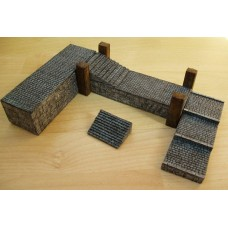 TH84 25/28mm Stone Pier/Jetty  Painted or Unpainted