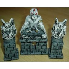 10063 Demonic Altar & pillars