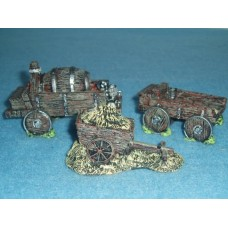 10029 Carts and Wagon Painted or unpainted