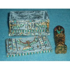 10051 Egyptian Sarcophagus Painted or unpainted
