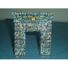 10058 Egyptian Gate Painted or unpainted