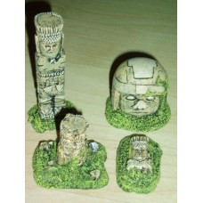 10062 Olmec Ruins Painted or unpainted