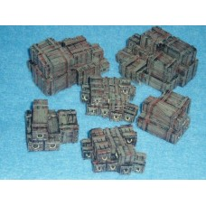 10007 Crates Painted or unpainted