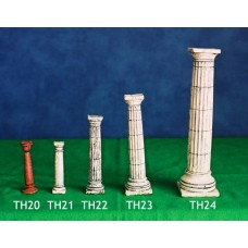 "Classical Doric Column 3"" High Unpainted"