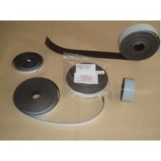 Magnetic Tape, Adhesive-backed 0.8mm Thick 10 mm Wide