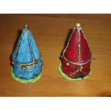 39 - TH37 - Medieval tent 15mm base 40mm